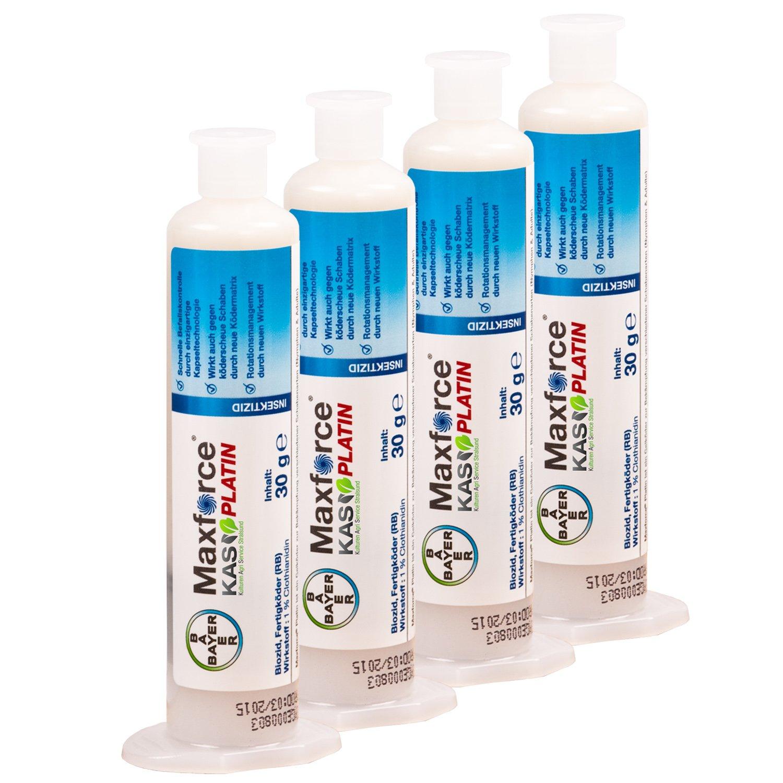 Bayer Maxforce Platin Schabengel 30g (4 Stück ohne Zubehör)