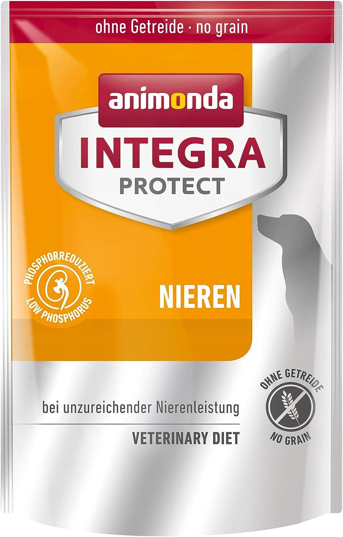 Comida dietética para perros animonda Integra Protect, pienso para perros con insuficiencia renal crónica, 700 g