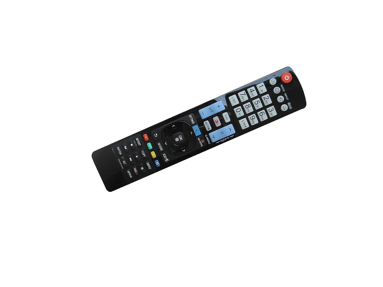 交換用リモコン LG 42PC1D 60PY3D MKJ32022820 6710T00017W 65LX570H 32LY560H 39LY560H 55UF6790 65UF6790 49UF6490 65UH6550 70UH6550 75UH6550 4K Ultra HD Smart 3D プラズマ LCD LED HDTV TV用   B01L6WHPSK