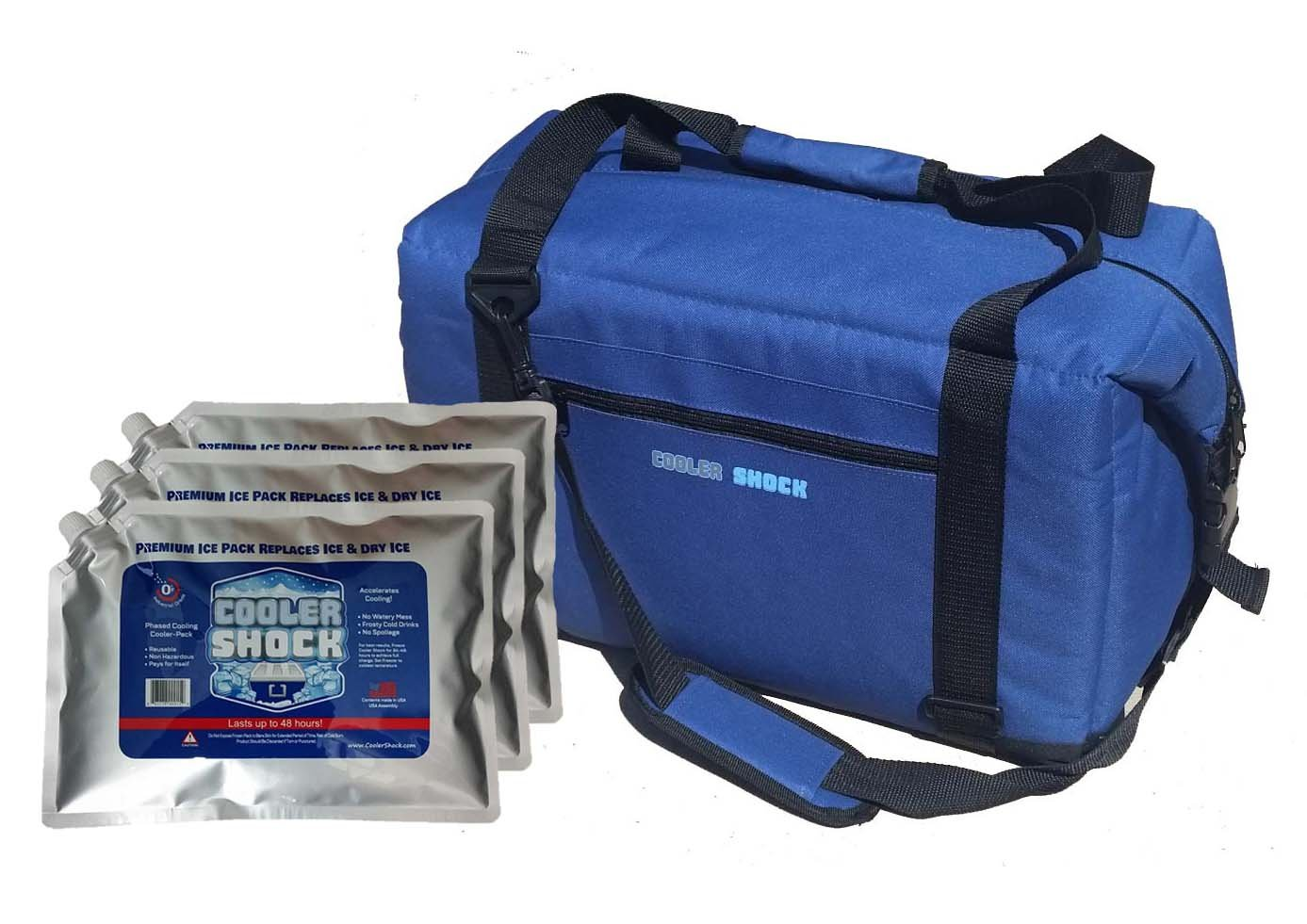 Cooler Shock 24 24 hr. Ice Free Coolers 24 or 48 Can