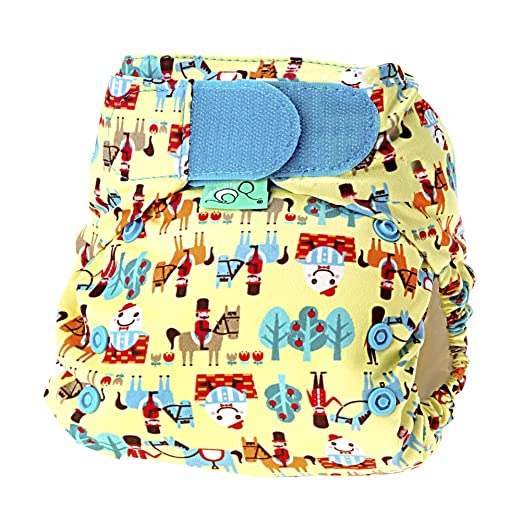 Tots Bots Easy Fit Cloth Diaper One Size V4 (Humpty Dumpty)