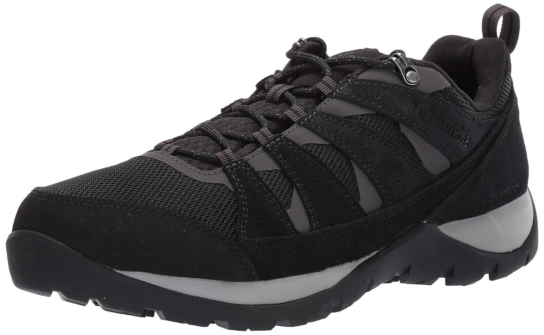 Noir (noir, Dark gris 010) 50 EU Columbia rougemond V2 WP, Chaussures de Randonnée Basses Homme