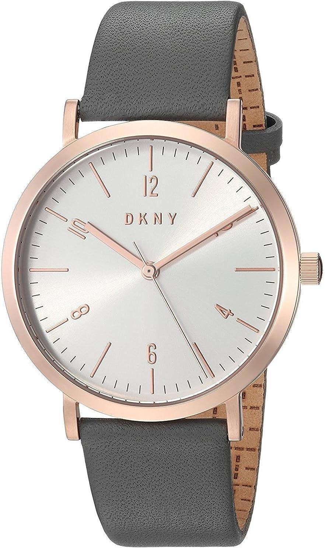DKNY Reloj Analogico para Mujer de Cuarzo con Correa en Cuero NY2652