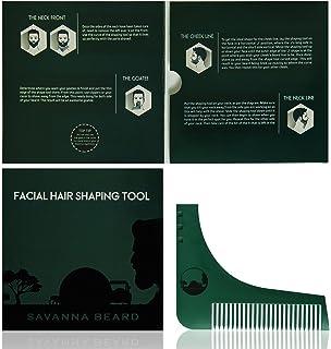 SAVANNA BEARD Conjunto para cuidado de la barba - Cepillo de ...
