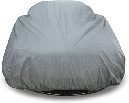 M Size up to 160 UV /& Dust Proof Designed for Most Protection Copap 4 Layers Non-Woven Fabric Car Covers Universal Full Cover Waterproof Paint Safe Water Resistant