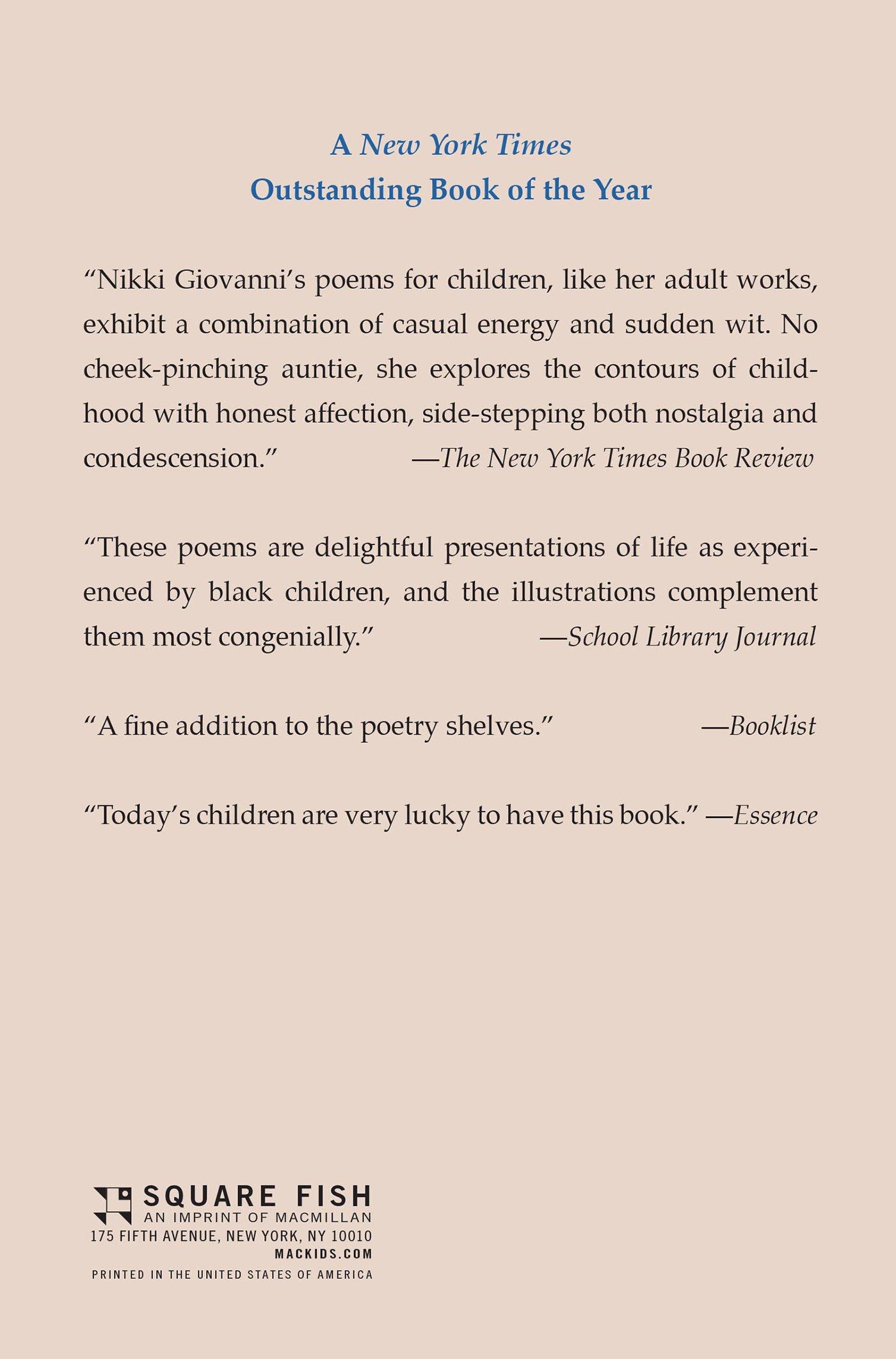 Nikki Giovanni Poems 6