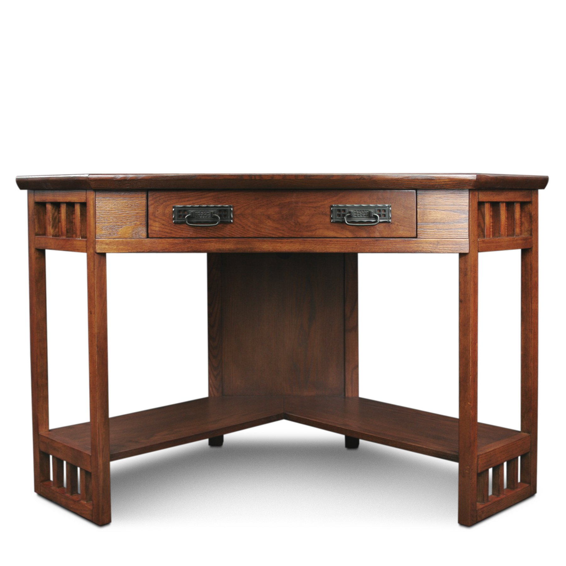 Leick Corner Computer and Writing Desk, Mission Oak Finish by Leick Furniture (Image #6)