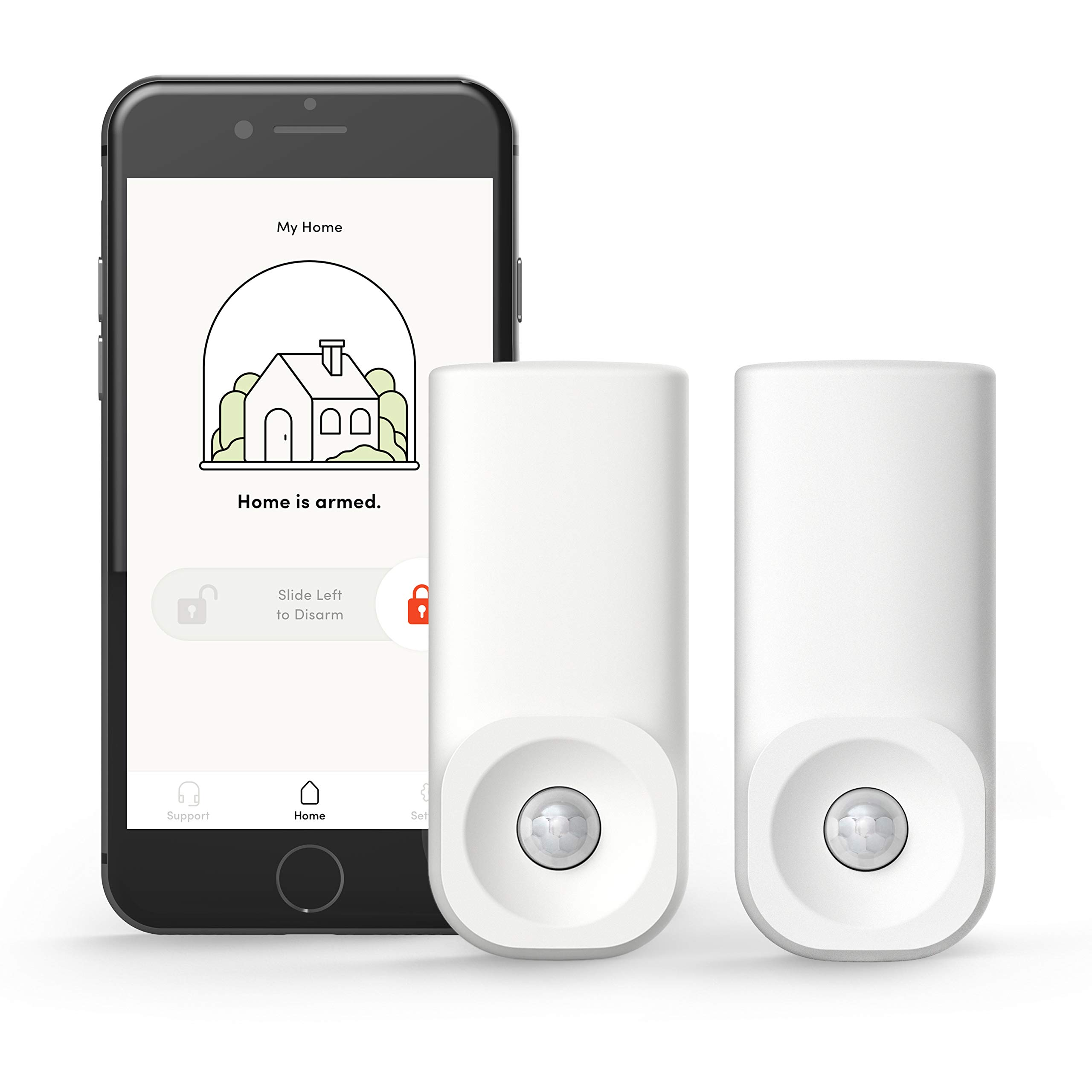 Kangaroo Home Security Motion Sensor (2 Pack, Free Plan)