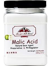 Hoosier Hill Farm Malic Acid Powder 1.5 Pound Jar
