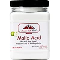 Hoosier Hill Farm Malic Acid Powder 1.5 Pound Jar
