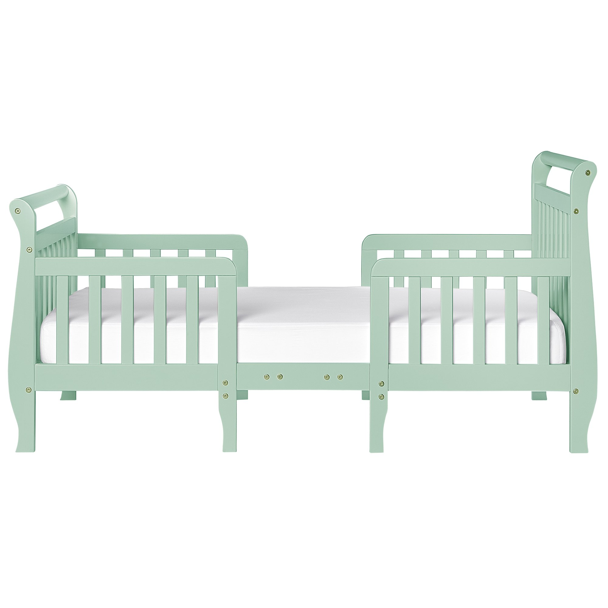 Dream On Me Emma 3 in 1 Convertible Toddler Bed, Mint