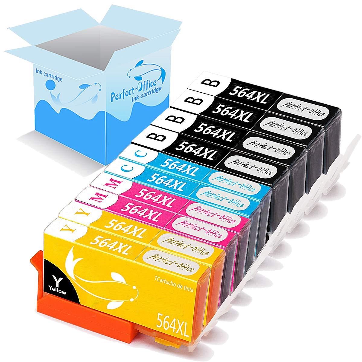 Amazon.com: Perfect-Office 8 paquete 564 cartucho de ...