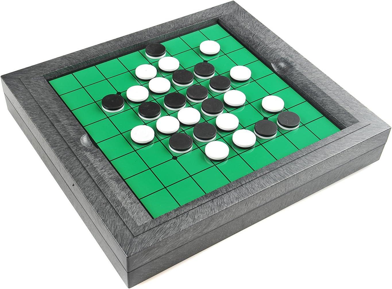 Quantum Abacus Monaco Magnetic Series: Reversi, Juego de Mesa magnético , tamaño Grande para el hogar: Dimensiones 31 x 28 x 5 cm, Mod. SC8200 DE: Amazon.es: Juguetes y juegos