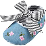 Elaco Infant Baby Girls Moccasins Anti-Slip Soft Sole Princess Shoes