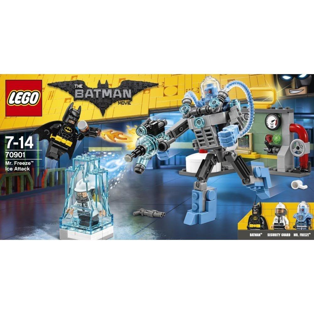 LEGO Super Héroes Ataque gélido de Mr Freeze