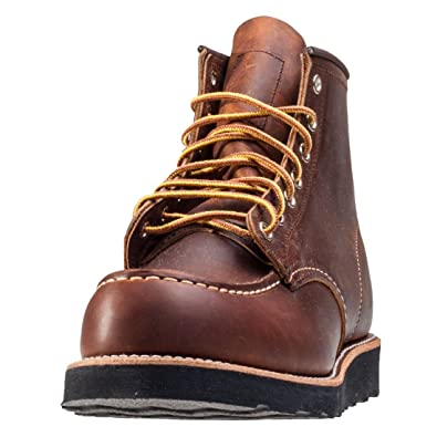 1ad90b481a62 Red Wing Mens 6 Inch Moc Toe Limited Edition Copper R T Boot - 8