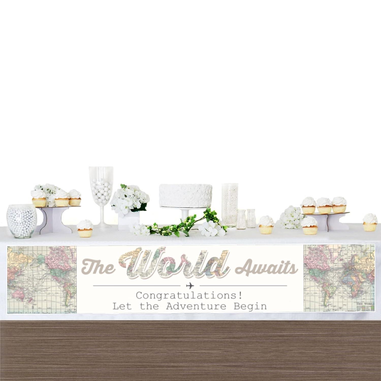 Amazon.com: World Awaits - Travel Themed Party Decorations Party ...