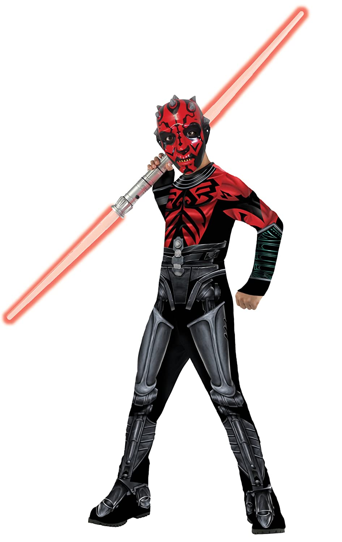 Amazon.com: Star Wars The Clone Wars Darth Maul Costume Kit ...