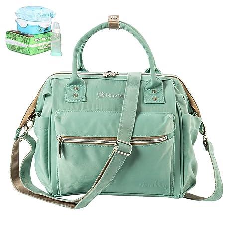 Mamá Mamá cambiar pañales mochila bebé mochila bolso lienzo mochila impermeable mochila de viaje Mochilas momia ...