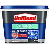 UniBond Triple Protect Anti-Mould Wall Tile Grout - 1 L, Black