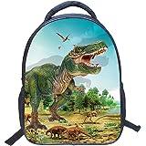 Jubang Mochila para Niños Mochila Escolar con Patrones de Dinosaurio Mochila Infantil para Escuela Primaria Mochilas…