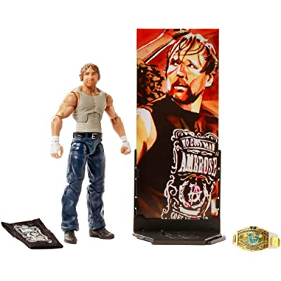 WWE Dean Ambrose Elite Collection Action Figure: Toys & Games