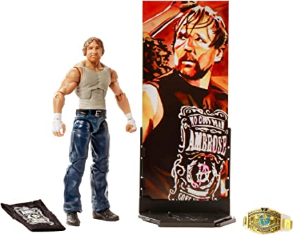 WWE Dean Ambrose RAW Action Figure w// package damage
