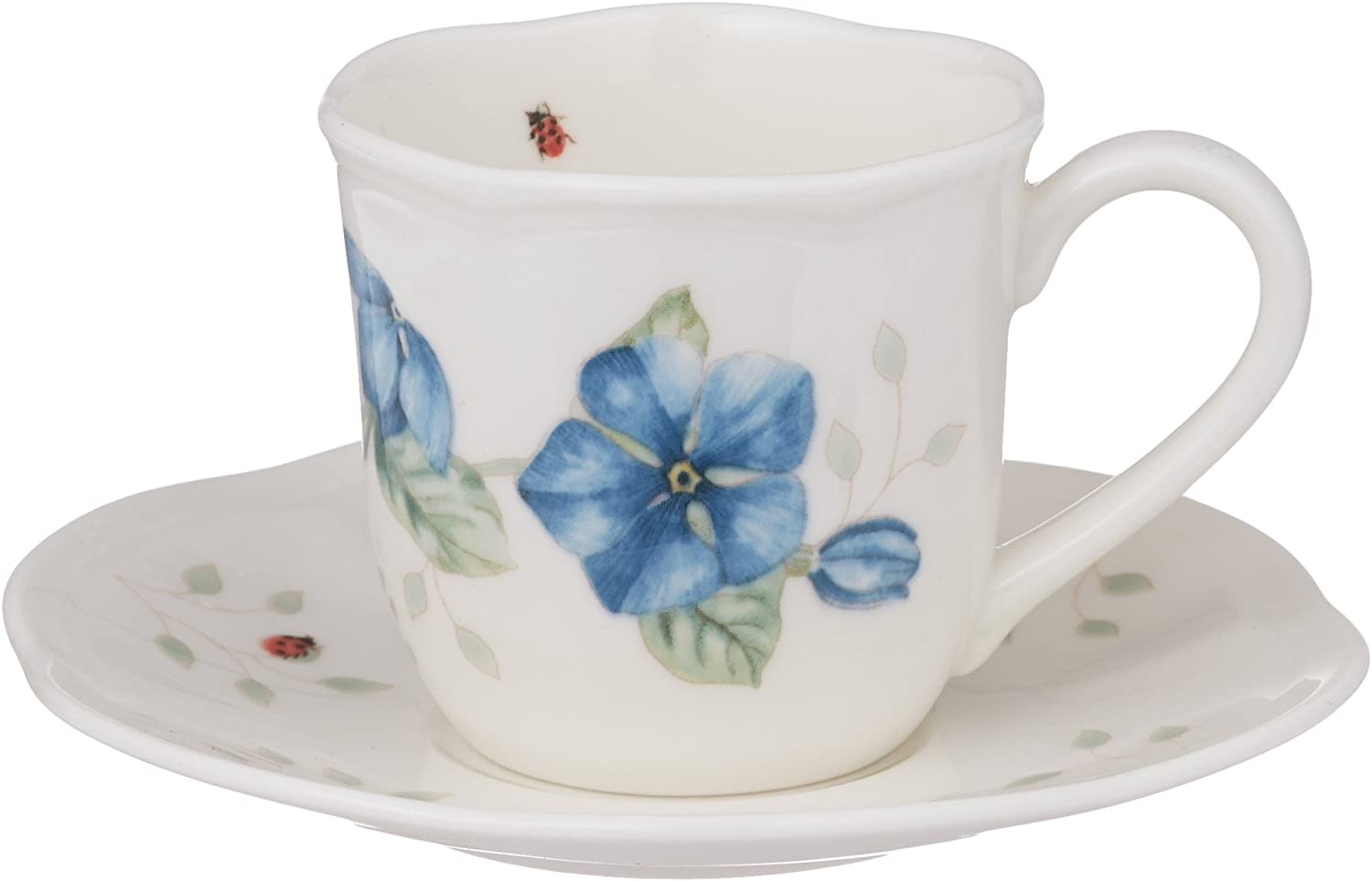 Lenox Butterfly Meadow Espresso Cup and Saucer