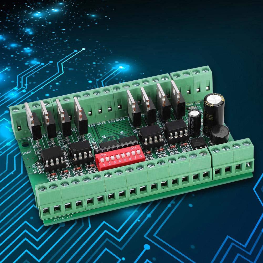 24V SquareWave Signalkonverter Modul Level Converter 10MHZ 8-Kanal Voltage Level Translator Spannungspegel-Wandlerkarte NPN//PNP zu NPN 5V