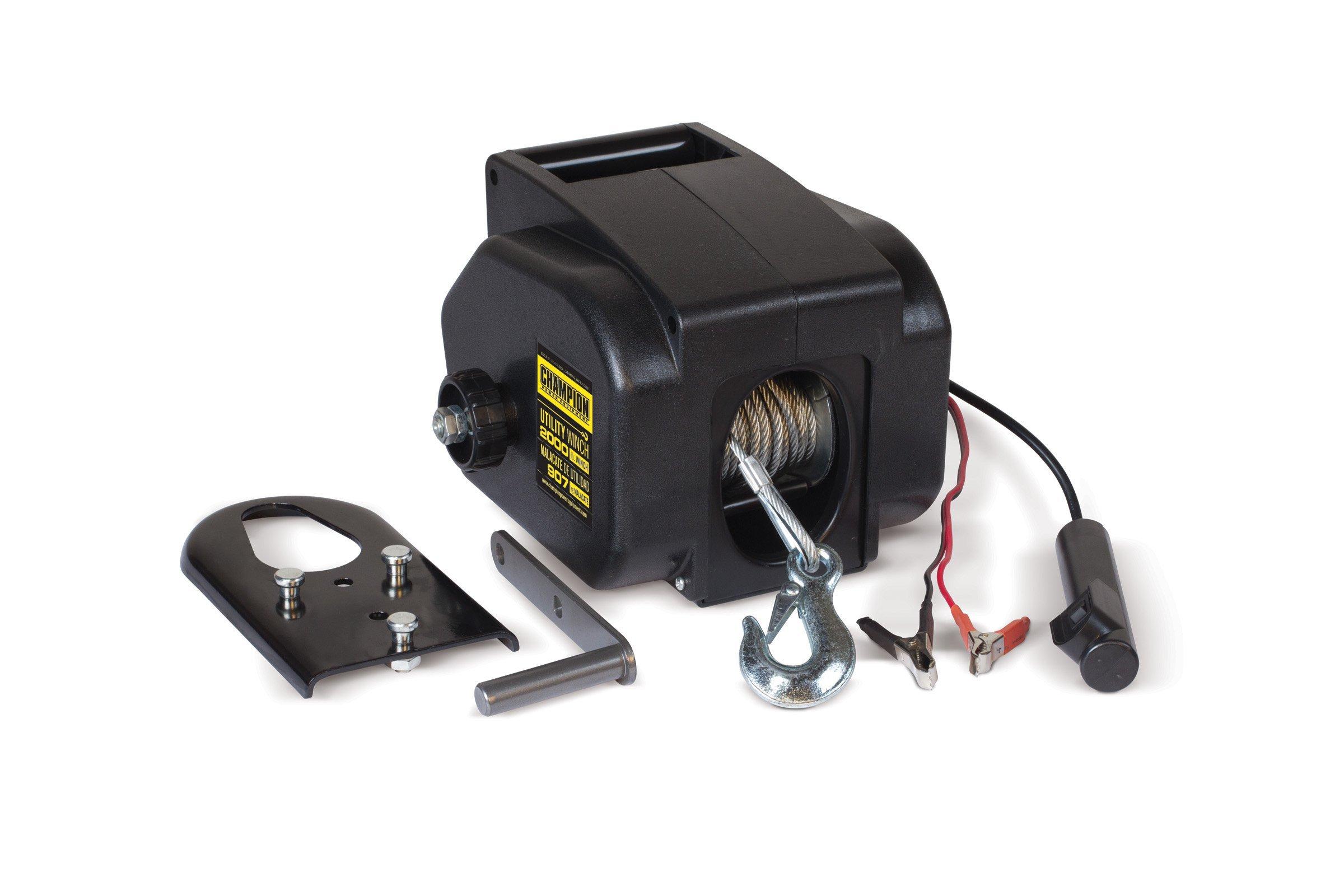 Champion 2000-lb. Marine/Trailer Utility Winch Kit by Champion Power Equipment
