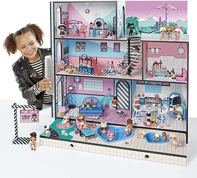 Giochi Preziosi - LOL House, Casa delle Bambole LOL con Luci e