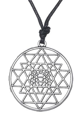 Amazon.com: Dawapara Sri Yantra Sacred Geometry Symbol Yoga ...