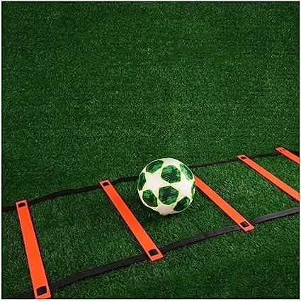 La Mano Y La Coordinación Pies 6m Escalera De Formación (19.68ft) 6 Entrenamiento De Tenis/Baloncesto/Fútbol Pasos Profesionales Escalera De Formación De Agilidad: Amazon.es: Deportes y aire libre