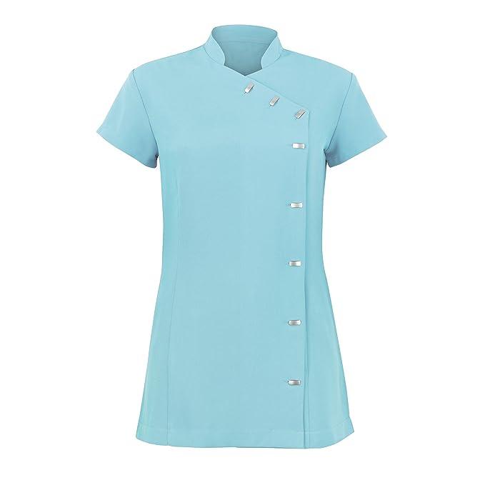 Alexandra - Túnica uniforme para salón de belleza / spa de cuidado fácil para mujer: Amazon.es: Amazon.es