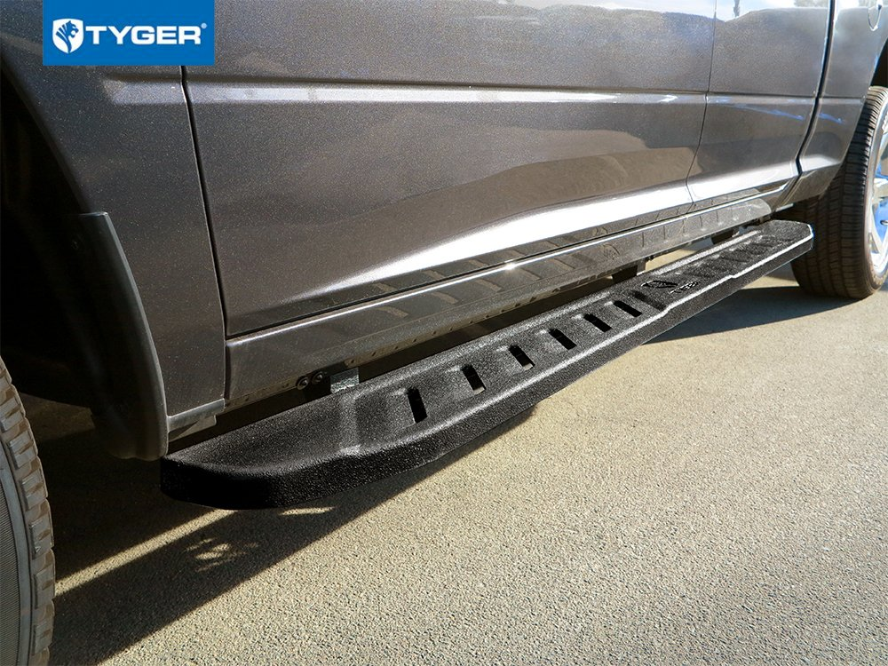 Tyger Auto TG-BL8C7158 Blade Running Boards Compatible with 2019 Chevy Silverado 1500//GMC Sierra 1500 /& 2020 2500//3500HD Crew Cab Side Step Textured Black Nerf Bars 88 Long /& 6.6 Wide