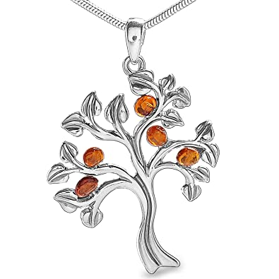 Bernstein Esotherik Lebensbaum Weltenbaum Baum des Lebens Yggdrasil Anhänger  Medallion 925 Silber Amulett  2014  Amazon.de  Schmuck 90486e4c9f