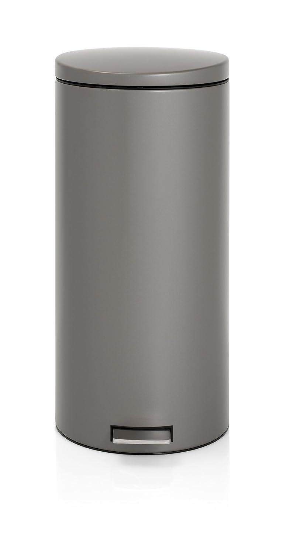 Brabantia 478802 poubelle à pédale 30 l motion control avec seau ...