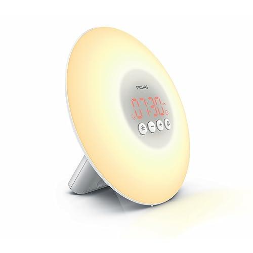 Philips Wake-Up Light Alarm Clock HF3500/01 with Sunrise Simulation