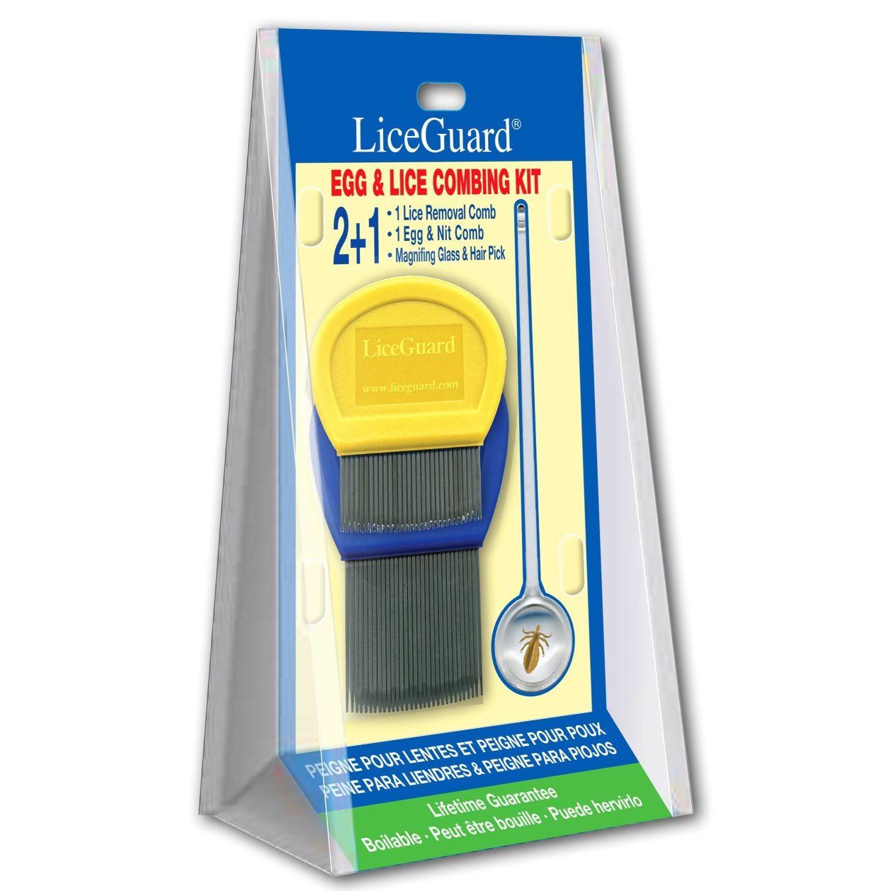 LiceGuard Lice & Egg Combing Kit by LiceGuard
