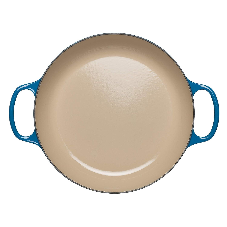 2 l Adatta a tutte le fonti di calore incl 4,205 kg /Ø 26 cm Le Creuset Cocotte Signature Gourmet in ghisa Rotonda induzione Crema