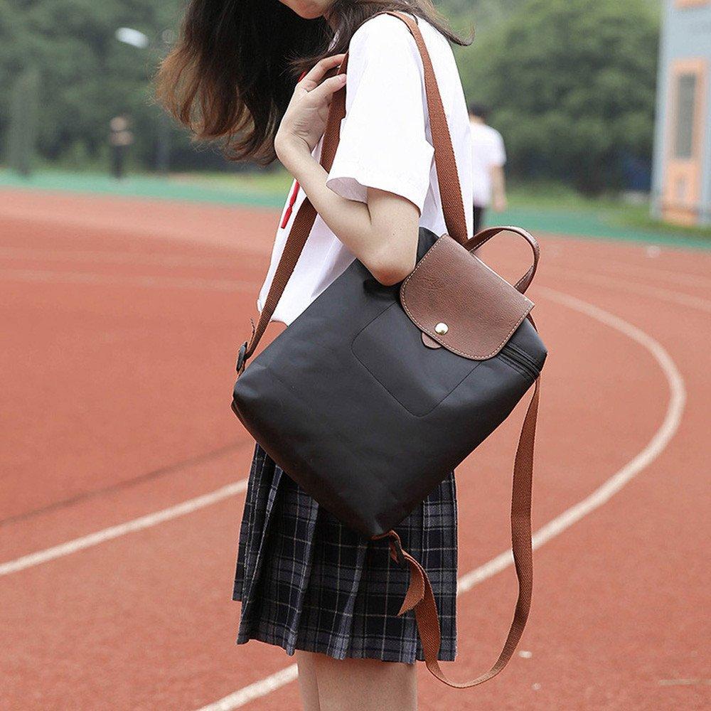 Amazon.com: Goddessvan Leisure Travel Nylon Zipper Bag ...
