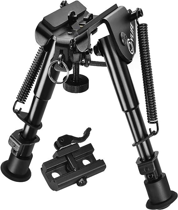 "9/"" Adjustable US shipping Shooting V9 Rifle Bipod Quick Detach Mount 7.25/'/'"