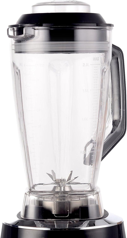 Blanc Mixeur Haute Performance et Blender /à Smoothie 28 000 tr//min 1600 W Blender BioChef Nova Bol 2L sans BPA avec 6 Programmes et Fonction Pulse