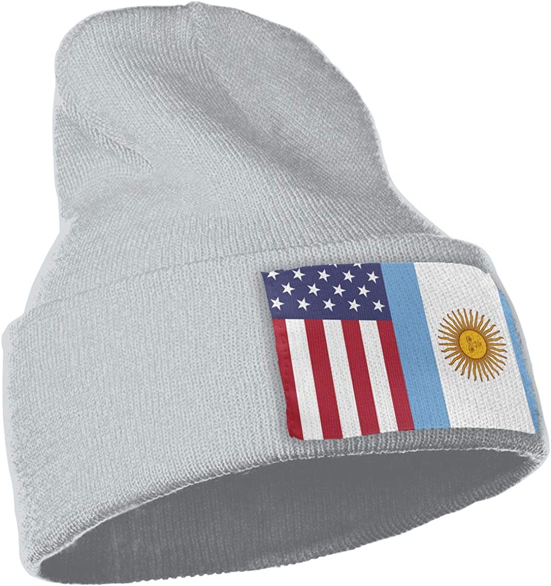 American Argentina Flag Thick Skull Cap WHOO93@Y Unisex 100/% Acrylic Knit Hat Cap
