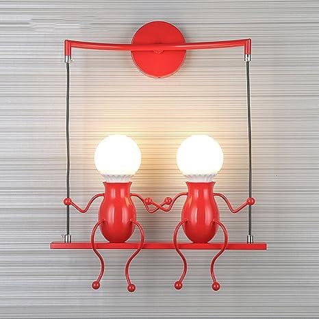 Amazon.com: Neixy - Lámpara de pared para niños, diseño ...