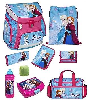Familando Disney - Lote de mochila escolar y accesorios (9 ...