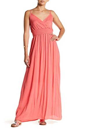 0598a34c57a70 West Kei Women's Gauze Maxi Dress Coral at Amazon Women's Clothing ...