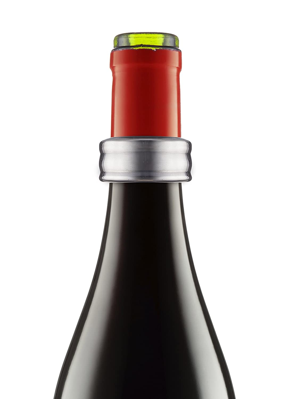 Stainless Steel Multi-Colour 8.4x16x2.4 cm Vacu Vin Wine Collar