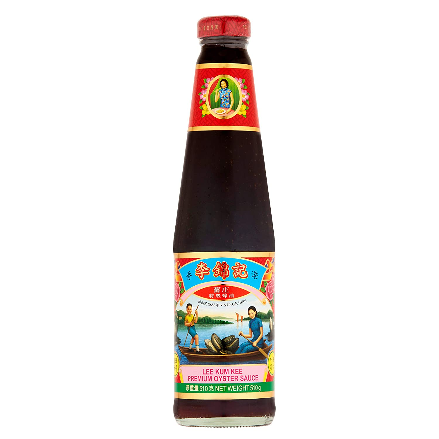 Lee Kum Kee Premium Oyster Flavored Sauce 18 Ounce (1 Pack)
