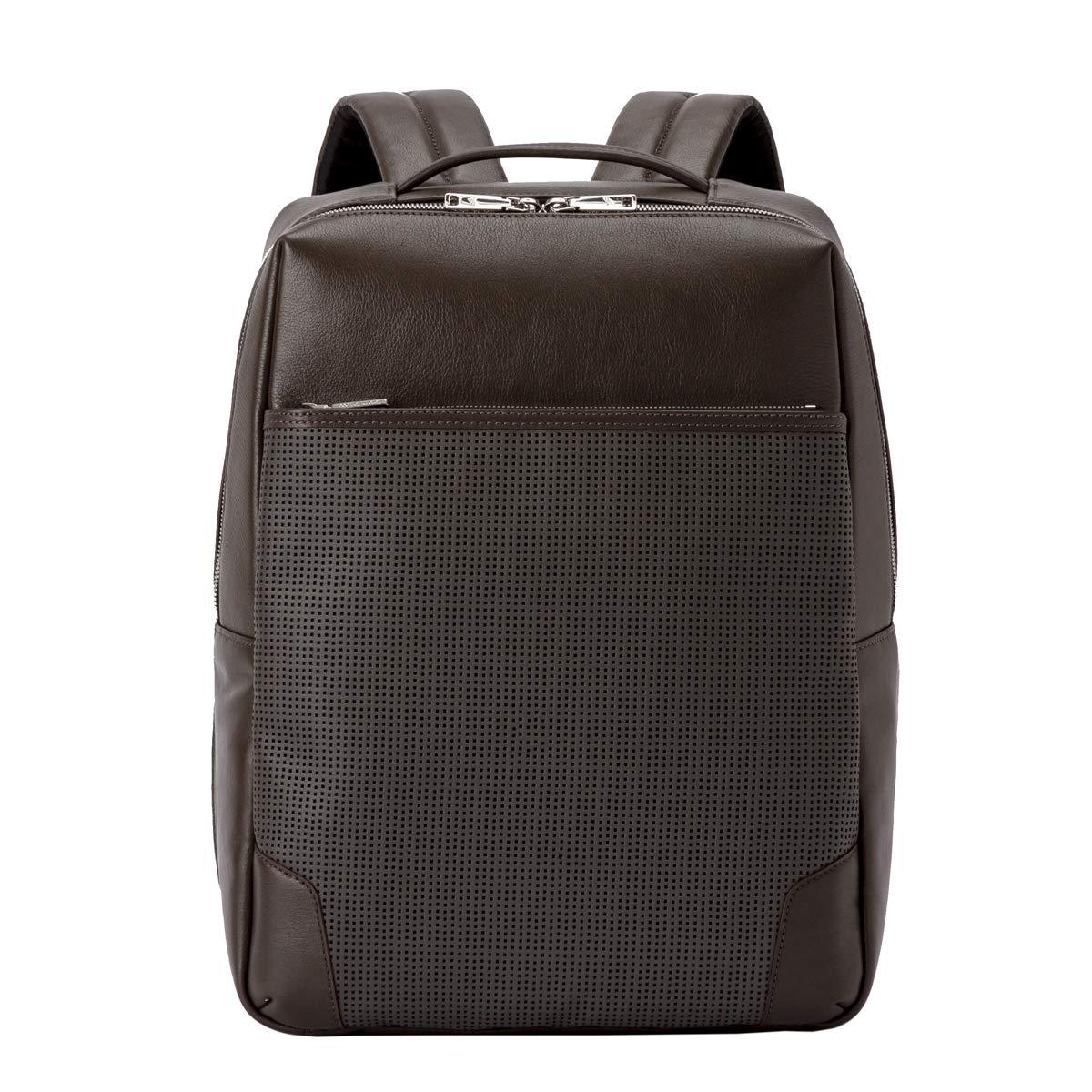 [トーテムリボー] ビジネスバックパック 豊岡鞄 soreソア 牛革 パンチング メンズ TRV0706 B07PS242J5 グレー